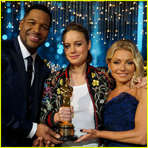 Brie Larson Talks Oscar Win on 'Kelly & Michael' (Video)
