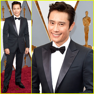 Byung-hun Lee Suits Up To Present At Oscars 2016!