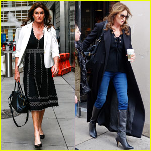Caitlyn Jenner Has a Quick Outfit Change in New York City