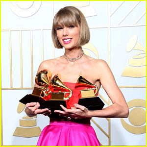 Calvin Harris Congratulates 'Beautiful Girlfriend' Taylor Swift on Grammy Wins