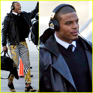 Cam Newton's $849 Versace Pants Cause a Stir on Twitter!