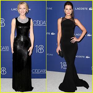 Cate Blanchett & Kate Beckinsale Stun at Costume Designers Awards 2016!