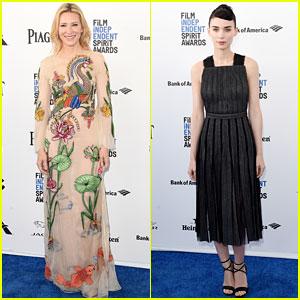 Cate Blanchett & Rooney Mara Rep 'Carol' at Spirit Awards 2016