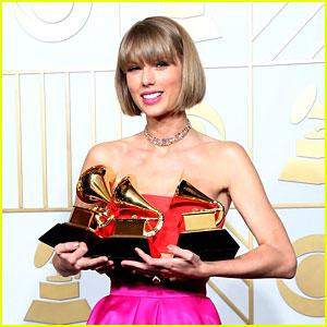 Celebs Praise Taylor Swift on Her Grammys Win & Speech!