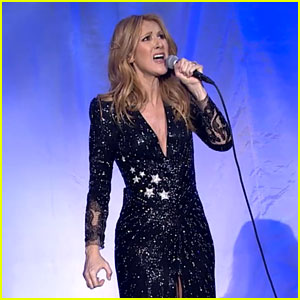 Celine Dion Pays Tribute to Rene Angelil at First Concert Back in Las Vegas (Video)