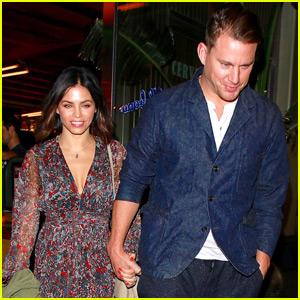 Channing Tatum & Jenna Dewan Have a Date Night in Malibu