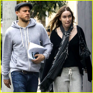 Charlie Hunnam Steps Out with Girlfriend Morgana McNelis