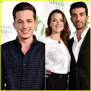Charlie Puth & Justin Baldoni Step Out for Pre-Oscars Party