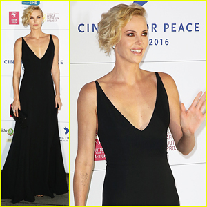 Charlize Theron Stuns At Cinema for Peace Gala Berlin 2016!