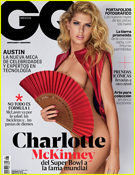 Charlotte McKinney Does a Super Racy Shoot for 'GQ Mexico'