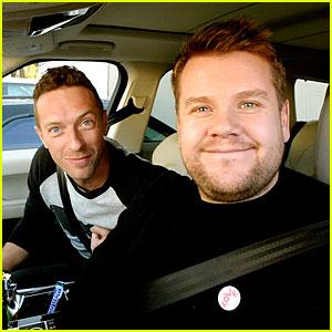 Chris Martin's Carpool Karaoke with James Corden - Watch Now!