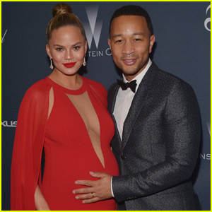 Chrissy Teigen & John Legend 'Roll Through' Weinstein Company Pre-Oscar Dinner