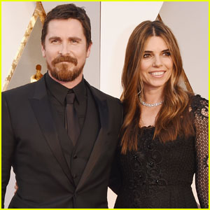 Christian Bale Brings Wife Sibi to Academy Awards 2016