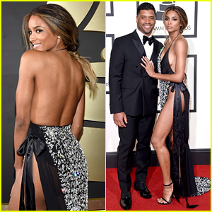 Ciara & Russell Wilson Make One Hot Couple at Grammys 2016!