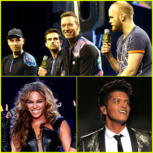 Coldplay, Beyonce, & Bruno Mars' Super Bowl Set List 2016 - Our Guesses!