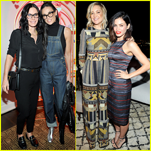 Courteney Cox, Kate Hudson & Demi Moore Help Jennifer Meyer Celebrate Superga XO Collection!