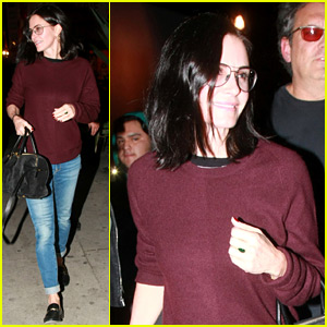 Courteney Cox Has Love for This Boy & Girl!