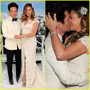 Daisy Fuentes & Richard Marx Get Married Again - See the Wedding Photos!