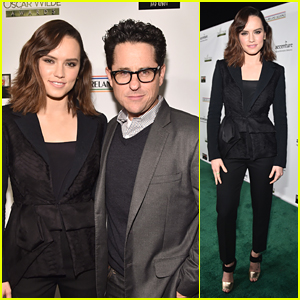 J.J. Abrams Spills Daisy Ridley's Singing Secret: She's Recording With A 'Massive Superstar'