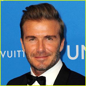 David Beckham Buys Coffee & Tea for Elderly Man & Paramedic