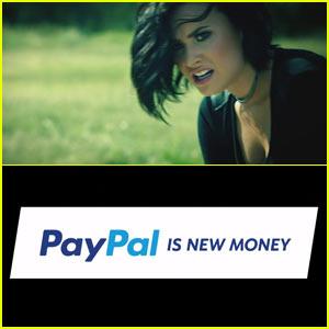 PayPal Super Bowl Commercial 2016: Demi Lovato is 'Confident'!