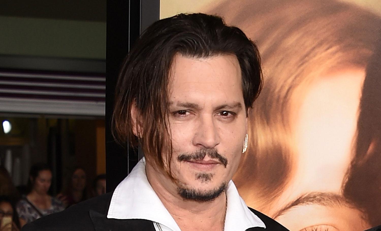 Johnny Depp's Head Was...