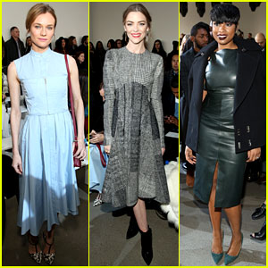 Diane Kruger & Jaime King Buddy Up at Jason Wu NYFW Show