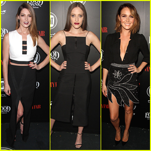 Ashley Greene & DNCE Step Out For Vanity Fair's Young Hollywood Party