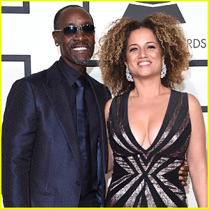 Don Cheadle Brings Partner Bridgid Coulter to Grammys 2016!