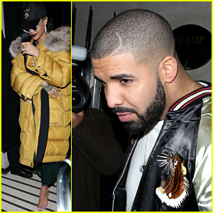 Drake & Rihanna Party Together After Steamy Brit Awards Performance