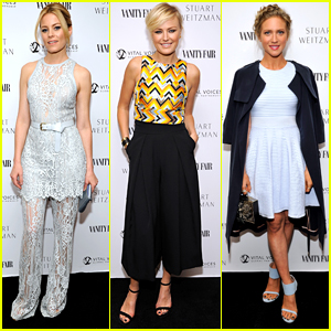 Brittany Snow Honors 'Badass' Elizabeth Banks at Vanity Fair Luncheon