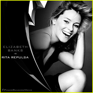 Elizabeth Banks to Play Villain Rita Repulsa in New 'Power Rangers' Movie