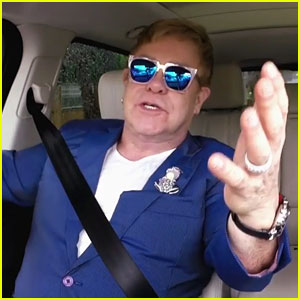 Elton John's Carpool Karaoke with James Corden - WATCH NOW!