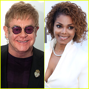 Elton John Slams Janet Jackson: 'I'd Rather Go & See a Drag Queen'