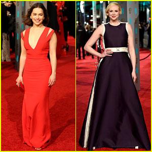 Emilia Clarke & Gwendoline Christie Bring the 'Thrones' to BAFTAs 2016!