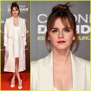 Emma Watson Shows Off New Bangs at 'Colonia' Premiere!