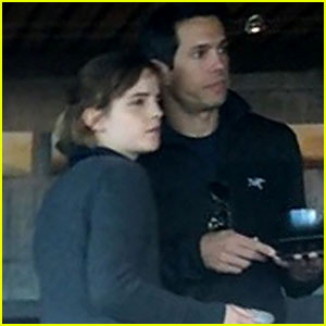 Emma Watson & Guy Friend Take a Trip to Big Sur Together