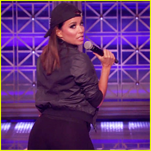 Eva Longoria Shakes Her Booty for 'Lip Sync Battle' Performance of 'Low' - Watch Now!