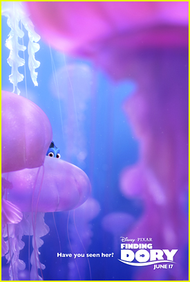 Dory Plays Hide & Go Seek In New 'Finding Dory' Posters