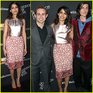 Freida Pinto Debuts 'Two Bellmen Two' In L.A. - Watch Short Film Here!