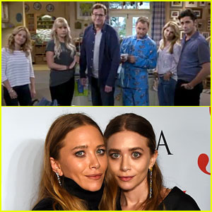 'Fuller House' Cast Shades Olsen Twins in Episode One (Video)