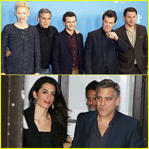 George Clooney & Amal Grab Dinner Ahead Of 'Hail, Caesar!' BIFF Photo Call