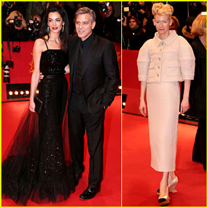 George Clooney Brings 'Hail, Caesar!' to Berlin with Wife Amal!