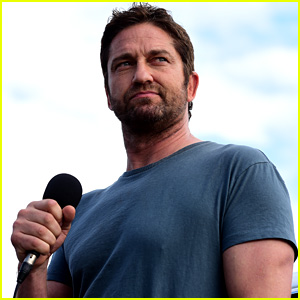 Gerard Butler Serves as Grand Marshal at Daytona 500! | Gerard Butler ...