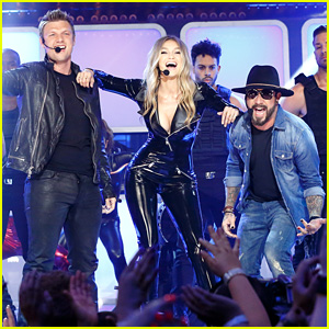 Gigi Hadid Performs with Backstreet Boys' Nick Carter & AJ McLean for 'Lip Sync Battle' - Watch Now!