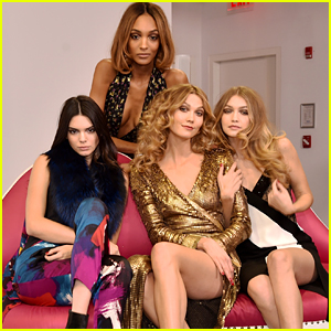 Gigi Hadid & Kendall Jenner Join Karlie Kloss & Jourdan Dunn at DVF Show!
