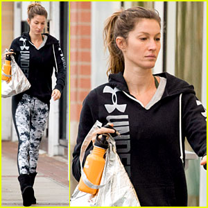 Gisele Bundchen Reunites with Glam Team After Her Workout