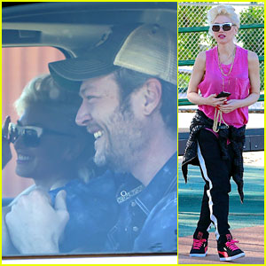 Gwen Stefani Brings Blake Shelton Along for Family Fun Time!