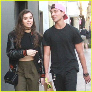 Hailee Steinfeld Hits Grammys Backstage Lounge After Shopping With Cameron Smoller