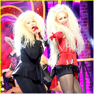 Hayden Panettiere Gets Christina Aguilera's Help on 'Lip Sync Battle' (Video)